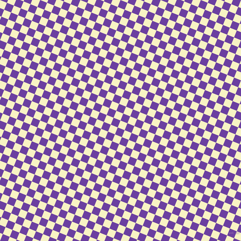 68/158 degree angle diagonal checkered chequered squares checker pattern checkers background, 25 pixel square size, , Corn Field and Royal Purple checkers chequered checkered squares seamless tileable