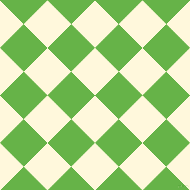 45/135 degree angle diagonal checkered chequered squares checker pattern checkers background, 116 pixel square size, , Corn Silk and Apple checkers chequered checkered squares seamless tileable
