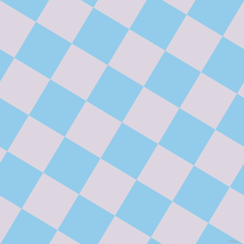 59/149 degree angle diagonal checkered chequered squares checker pattern checkers background, 140 pixel square size, , Cornflower and Titan White checkers chequered checkered squares seamless tileable