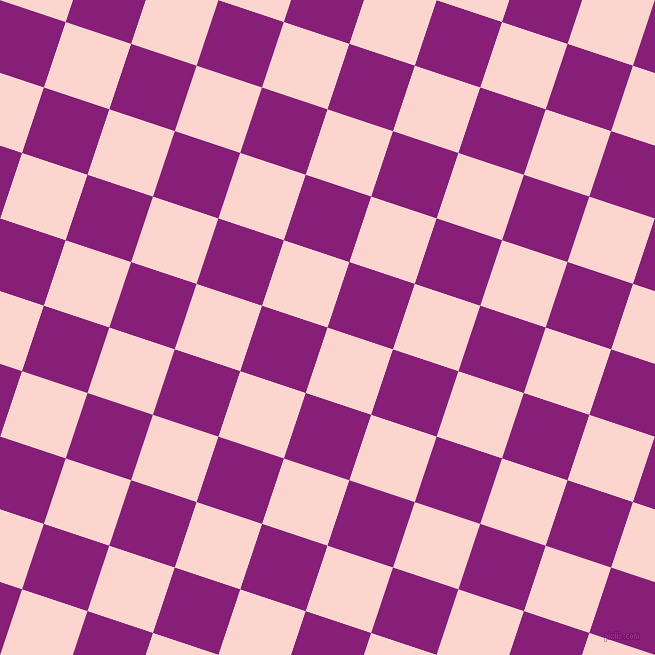 72/162 degree angle diagonal checkered chequered squares checker pattern checkers background, 69 pixel square size, , Cosmos and Dark Purple checkers chequered checkered squares seamless tileable