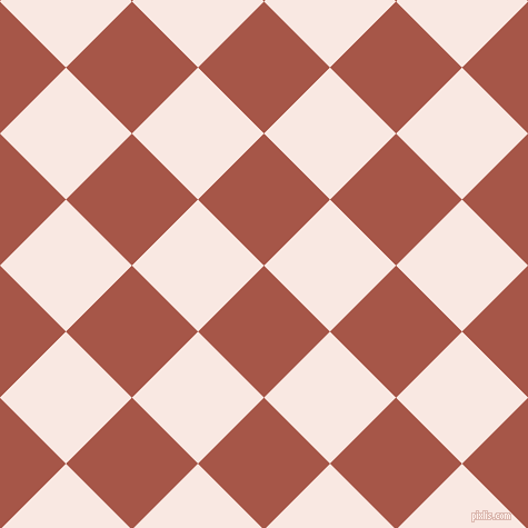 45/135 degree angle diagonal checkered chequered squares checker pattern checkers background, 84 pixel square size, , Crail and Wisp Pink checkers chequered checkered squares seamless tileable