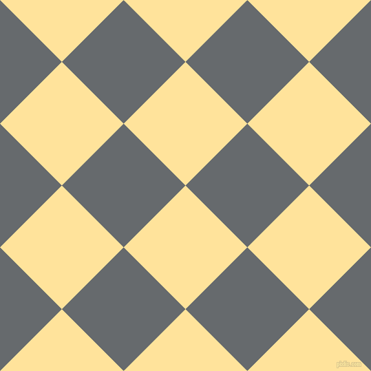 45/135 degree angle diagonal checkered chequered squares checker pattern checkers background, 127 pixel squares size, , Cream Brulee and Mid Grey checkers chequered checkered squares seamless tileable