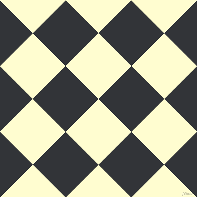 45/135 degree angle diagonal checkered chequered squares checker pattern checkers background, 150 pixel squares size, , Cream and Ebony Clay checkers chequered checkered squares seamless tileable