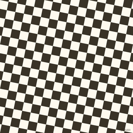 79/169 degree angle diagonal checkered chequered squares checker pattern checkers background, 33 pixel square size, , Creole and Floral White checkers chequered checkered squares seamless tileable