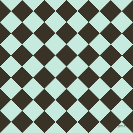 45/135 degree angle diagonal checkered chequered squares checker pattern checkers background, 53 pixel squares size, , Creole and Mint Tulip checkers chequered checkered squares seamless tileable