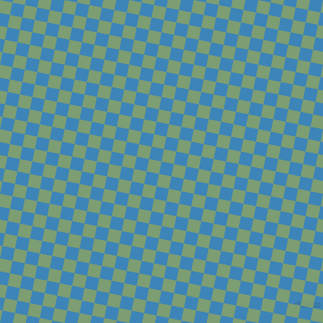 79/169 degree angle diagonal checkered chequered squares checker pattern checkers background, 18 pixel squares size, , Curious Blue and Amulet checkers chequered checkered squares seamless tileable