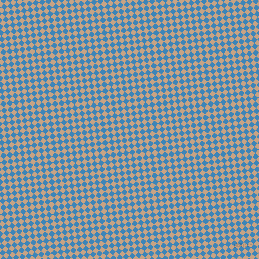 52/142 degree angle diagonal checkered chequered squares checker pattern checkers background, 9 pixel squares size, , Curious Blue and Rodeo Dust checkers chequered checkered squares seamless tileable