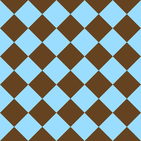 dark brown and columbia blue checkers chequered checkered squares