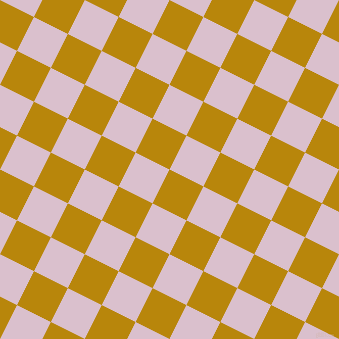 63/153 degree angle diagonal checkered chequered squares checker pattern checkers background, 75 pixel squares size, Dark Goldenrod and Twilight checkers chequered checkered squares seamless tileable