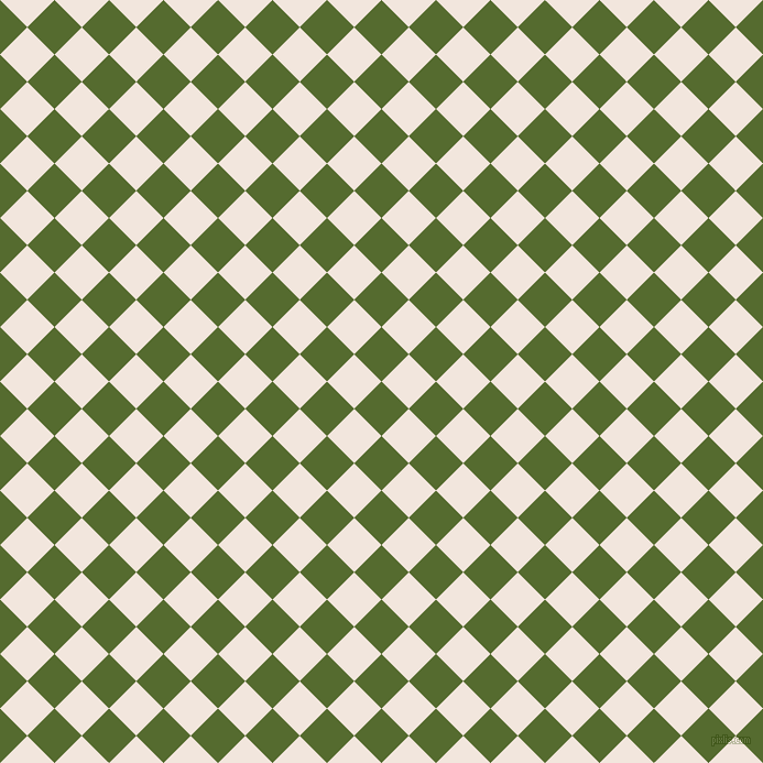 45/135 degree angle diagonal checkered chequered squares checker pattern checkers background, 35 pixel squares size, , Dark Olive Green and Fantasy checkers chequered checkered squares seamless tileable