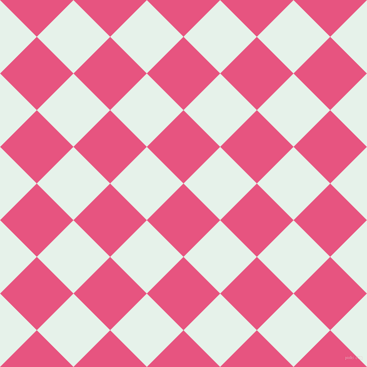 45/135 degree angle diagonal checkered chequered squares checker pattern checkers background, 106 pixel square size, , Dark Pink and Bubbles checkers chequered checkered squares seamless tileable