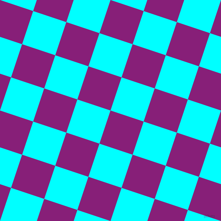 72/162 degree angle diagonal checkered chequered squares checker pattern checkers background, 117 pixel squares size, , Dark Purple and Aqua checkers chequered checkered squares seamless tileable