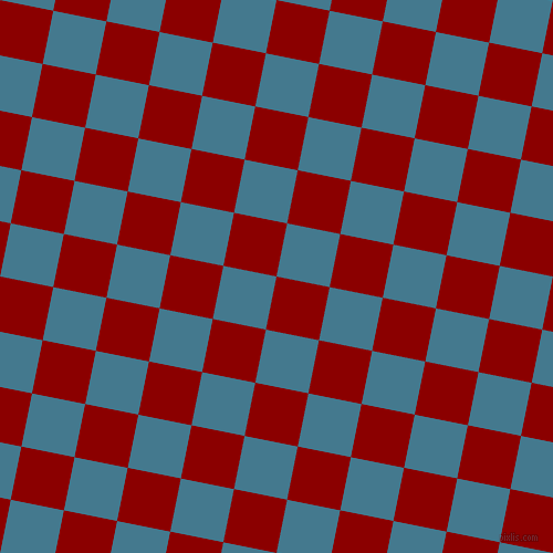 79/169 degree angle diagonal checkered chequered squares checker pattern checkers background, 49 pixel square size, , Dark Red and Jelly Bean checkers chequered checkered squares seamless tileable