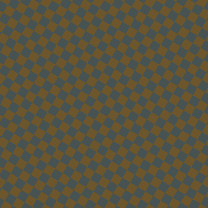 59/149 degree angle diagonal checkered chequered squares checker pattern checkers background, 31 pixel square size, Dark Slate and Horses Neck checkers chequered checkered squares seamless tileable