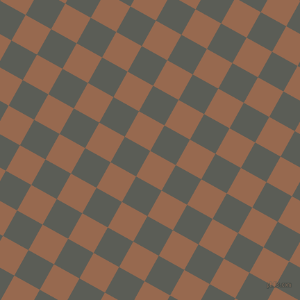 61/151 degree angle diagonal checkered chequered squares checker pattern checkers background, 42 pixel square size, , Dark Tan and Chicago checkers chequered checkered squares seamless tileable