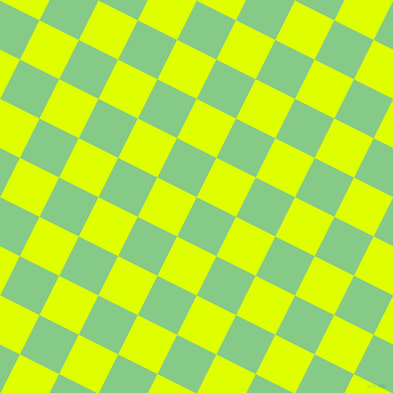 63/153 degree angle diagonal checkered chequered squares checker pattern checkers background, 88 pixel squares size, , De York and Chartreuse Yellow checkers chequered checkered squares seamless tileable