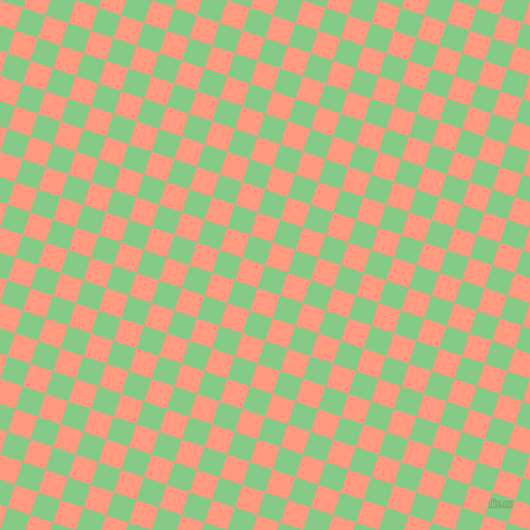 72/162 degree angle diagonal checkered chequered squares checker pattern checkers background, 22 pixel squares size, , De York and Vivid Tangerine checkers chequered checkered squares seamless tileable