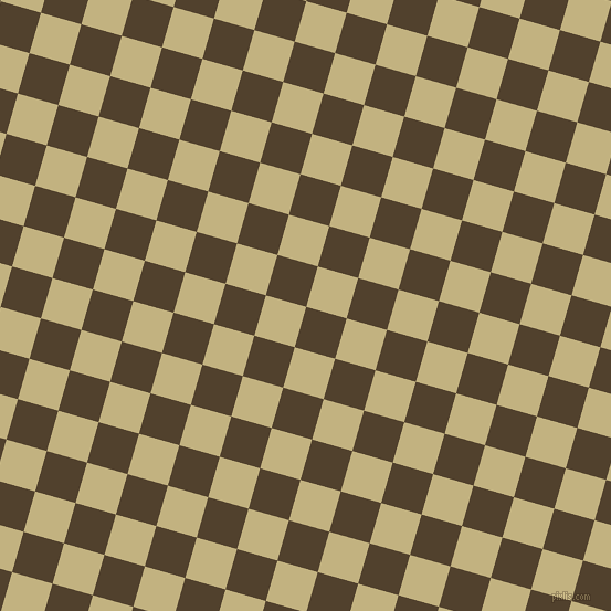 74/164 degree angle diagonal checkered chequered squares checker pattern checkers background, 38 pixel square size, , Deep Bronze and Ecru checkers chequered checkered squares seamless tileable