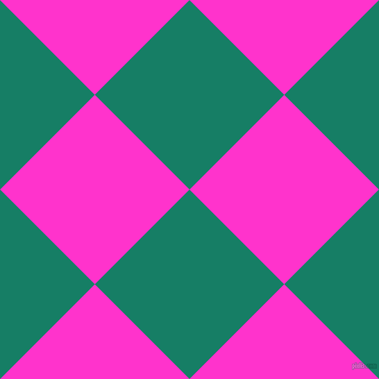 45/135 degree angle diagonal checkered chequered squares checker pattern checkers background, 193 pixel square size, , Deep Sea and Razzle Dazzle Rose checkers chequered checkered squares seamless tileable