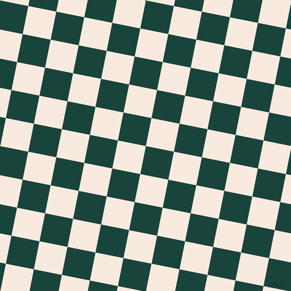 79/169 degree angle diagonal checkered chequered squares checker pattern checkers background, 58 pixel squares size, , Deep Teal and Chardon checkers chequered checkered squares seamless tileable