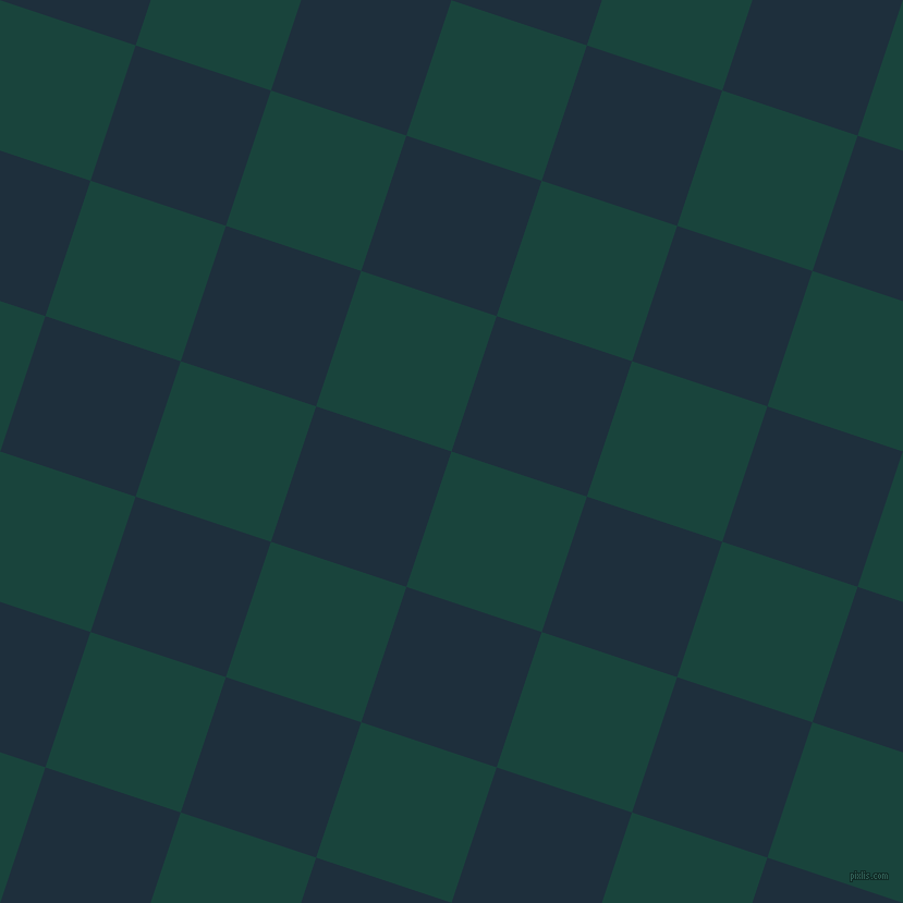 72/162 degree angle diagonal checkered chequered squares checker pattern checkers background, 131 pixel square size, , Deep Teal and Tangaroa checkers chequered checkered squares seamless tileable