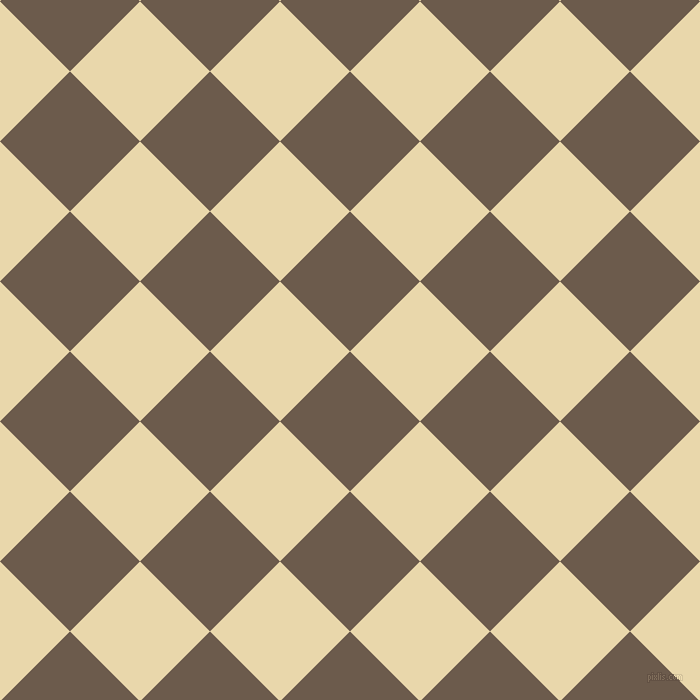45/135 degree angle diagonal checkered chequered squares checker pattern checkers background, 99 pixel squares size, , Domino and Beeswax checkers chequered checkered squares seamless tileable