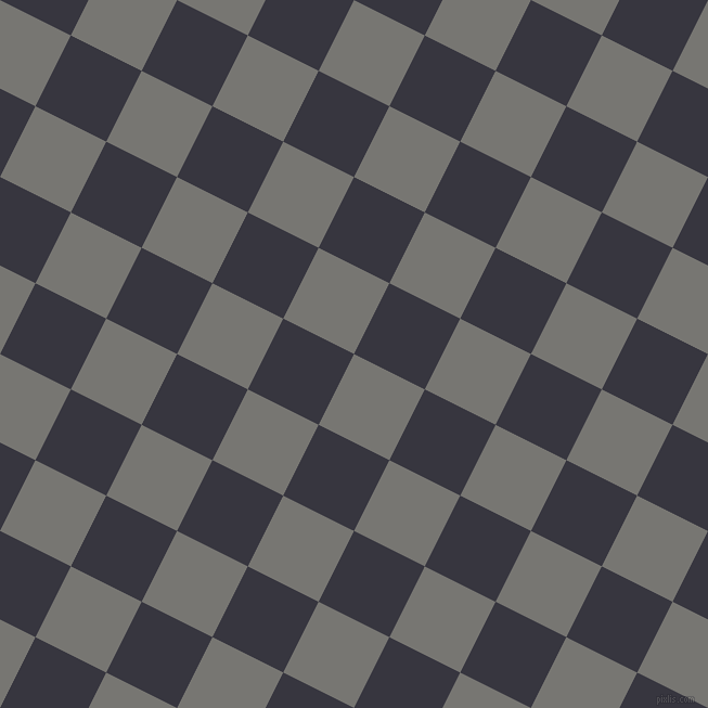 63/153 degree angle diagonal checkered chequered squares checker pattern checkers background, 73 pixel squares size, , Dove Grey and Revolver checkers chequered checkered squares seamless tileable