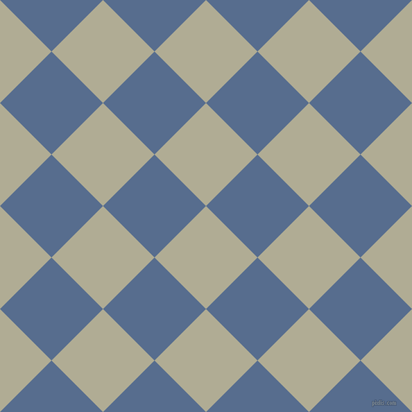 45/135 degree angle diagonal checkered chequered squares checker pattern checkers background, 105 pixel squares size, , Eagle and Kashmir Blue checkers chequered checkered squares seamless tileable