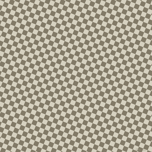 68/158 degree angle diagonal checkered chequered squares checker pattern checkers background, 16 pixel square size, , Ecru White and Arrowtown checkers chequered checkered squares seamless tileable