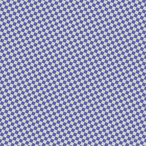 72/162 degree angle diagonal checkered chequered squares checker pattern checkers background, 11 pixel squares size, Edgewater and Blue Marguerite checkers chequered checkered squares seamless tileable