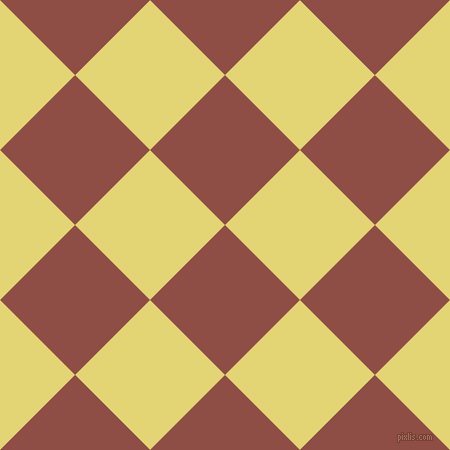 45/135 degree angle diagonal checkered chequered squares checker pattern checkers background, 106 pixel square size, , El Salva and Wild Rice checkers chequered checkered squares seamless tileable