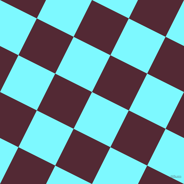 63/153 degree angle diagonal checkered chequered squares checker pattern checkers background, 135 pixel square size, , Electric Blue and Black Rose checkers chequered checkered squares seamless tileable