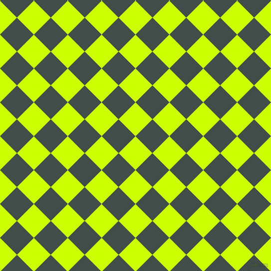 45/135 degree angle diagonal checkered chequered squares checker pattern checkers background, 48 pixel squares size, , Electric Lime and Corduroy checkers chequered checkered squares seamless tileable