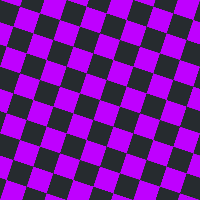 72/162 degree angle diagonal checkered chequered squares checker pattern checkers background, 88 pixel squares size, , Electric Purple and Blue Charcoal checkers chequered checkered squares seamless tileable