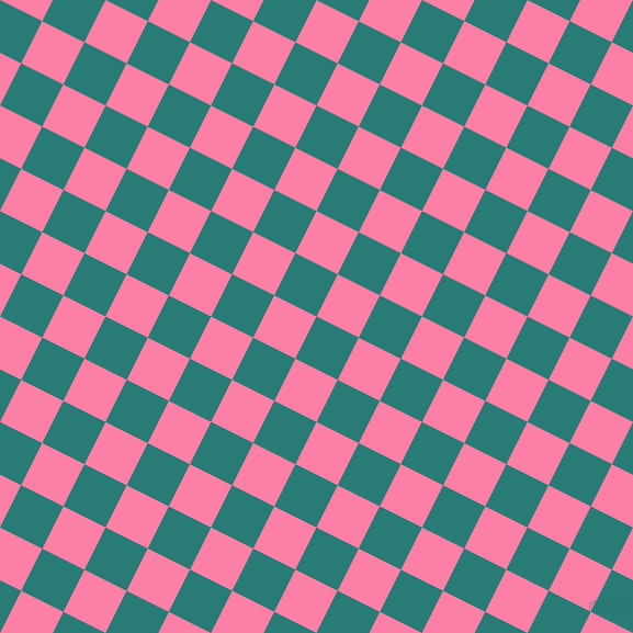 63/153 degree angle diagonal checkered chequered squares checker pattern checkers background, 43 pixel square size, , Elm and Tickle Me Pink checkers chequered checkered squares seamless tileable