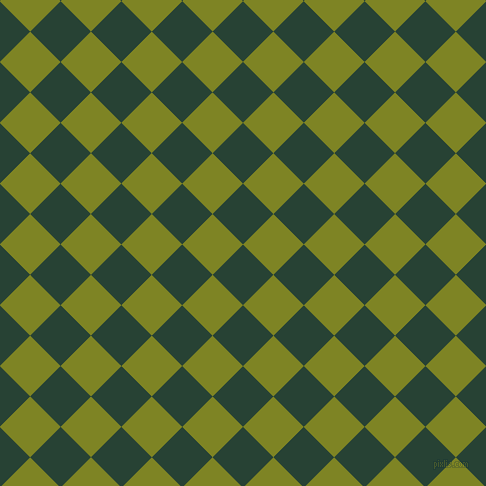 45/135 degree angle diagonal checkered chequered squares checker pattern checkers background, 43 pixel square size, , English Holly and Trendy Green checkers chequered checkered squares seamless tileable