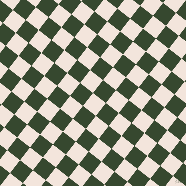 52/142 degree angle diagonal checkered chequered squares checker pattern checkers background, 57 pixel square size, , Fair Pink and Palm Leaf checkers chequered checkered squares seamless tileable