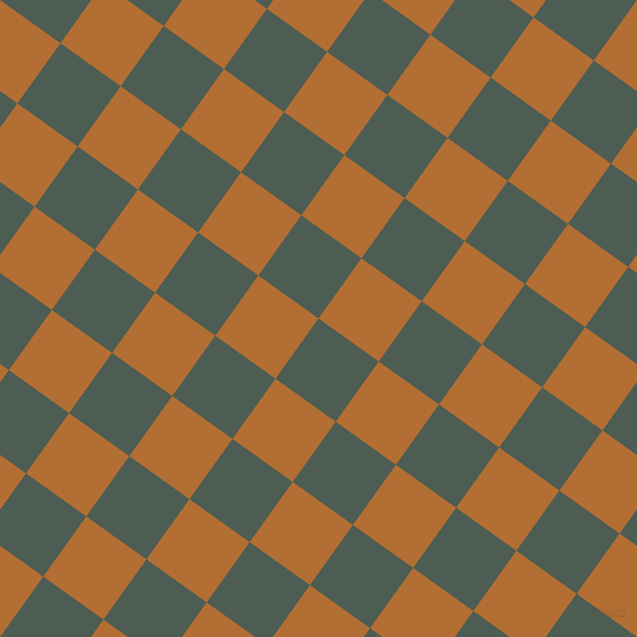 54/144 degree angle diagonal checkered chequered squares checker pattern checkers background, 74 pixel square size, , Feldgrau and Reno Sand checkers chequered checkered squares seamless tileable