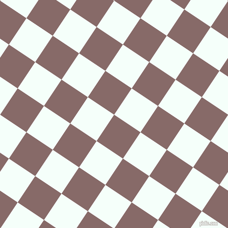 56/146 degree angle diagonal checkered chequered squares checker pattern checkers background, 62 pixel squares size, , Ferra and Mint Cream checkers chequered checkered squares seamless tileable