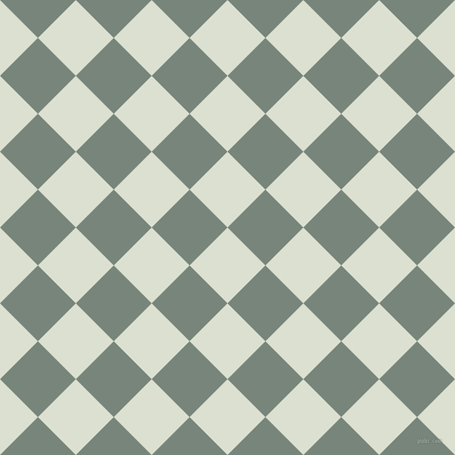 45/135 degree angle diagonal checkered chequered squares checker pattern checkers background, 76 pixel squares size, , Feta and Blue Smoke checkers chequered checkered squares seamless tileable