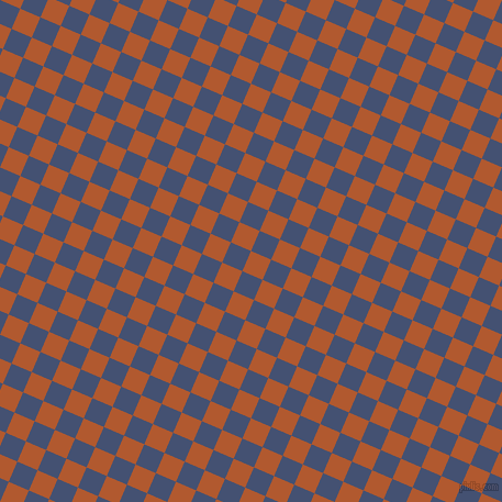 67/157 degree angle diagonal checkered chequered squares checker pattern checkers background, 20 pixel square size, , Fiery Orange and Astronaut checkers chequered checkered squares seamless tileable