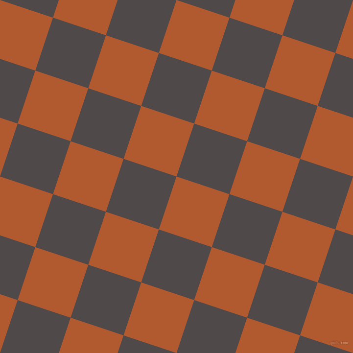 72/162 degree angle diagonal checkered chequered squares checker pattern checkers background, 114 pixel squares size, , Fiery Orange and Emperor checkers chequered checkered squares seamless tileable