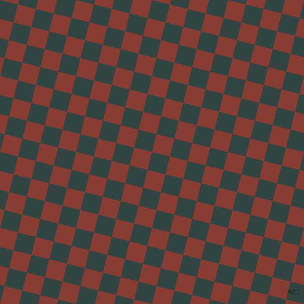 76/166 degree angle diagonal checkered chequered squares checker pattern checkers background, 38 pixel square size, , Firefly and Prairie Sand checkers chequered checkered squares seamless tileable