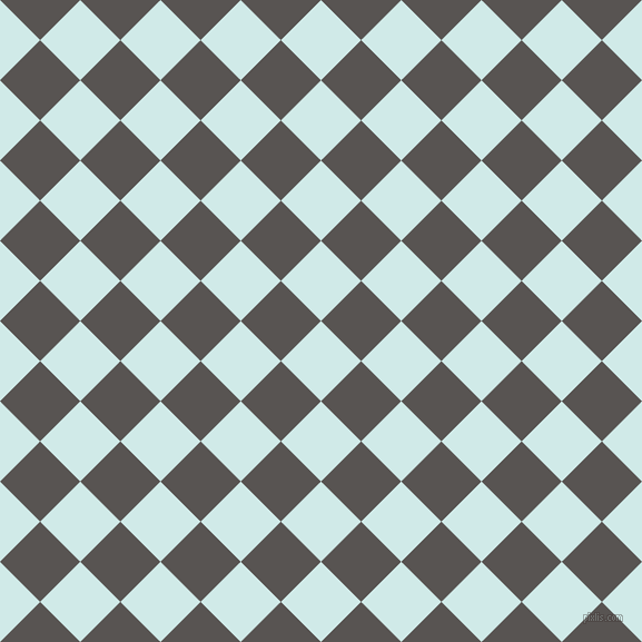 45/135 degree angle diagonal checkered chequered squares checker pattern checkers background, 51 pixel squares size, , Foam and Tundora checkers chequered checkered squares seamless tileable