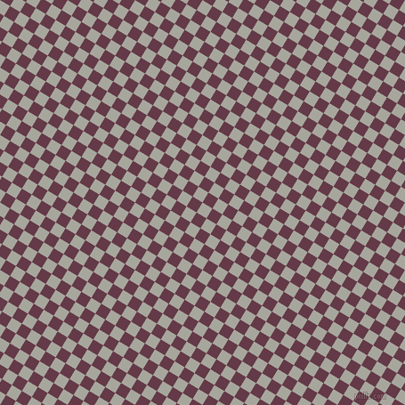 59/149 degree angle diagonal checkered chequered squares checker pattern checkers background, 13 pixel squares size, , Foggy Grey and Tawny Port checkers chequered checkered squares seamless tileable