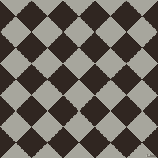 45/135 degree angle diagonal checkered chequered squares checker pattern checkers background, 73 pixel square size, , Foggy Grey and Wood Bark checkers chequered checkered squares seamless tileable