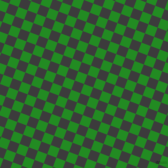 69/159 degree angle diagonal checkered chequered squares checker pattern checkers background, 32 pixel squares size, , Forest Green and Fuscous Grey checkers chequered checkered squares seamless tileable