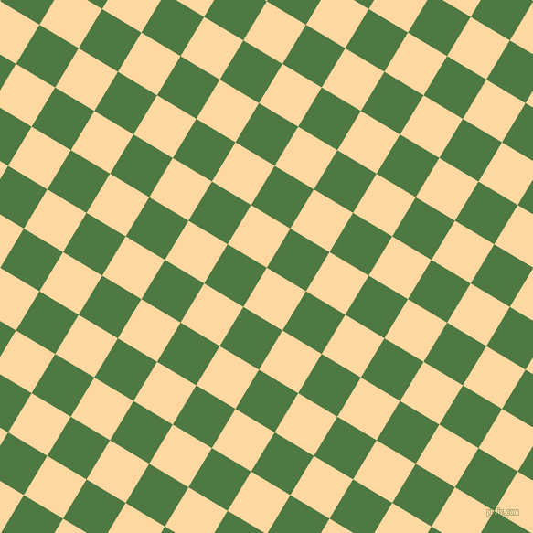 59/149 degree angle diagonal checkered chequered squares checker pattern checkers background, 50 pixel square size, , Frangipani and Fern Green checkers chequered checkered squares seamless tileable