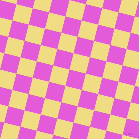 76/166 degree angle diagonal checkered chequered squares checker pattern checkers background, 55 pixel square size, , Free Speech Magenta and Buff checkers chequered checkered squares seamless tileable