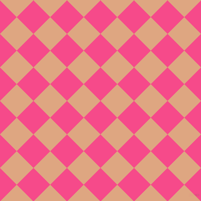 45/135 degree angle diagonal checkered chequered squares checker pattern checkers background, 81 pixel square size, , French Rose and Tumbleweed checkers chequered checkered squares seamless tileable